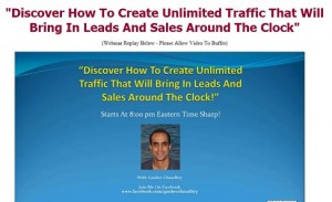 Gauher Chaudhry - Webinar Replay