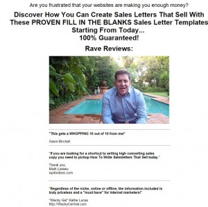 How to Write Salesletters That Sell